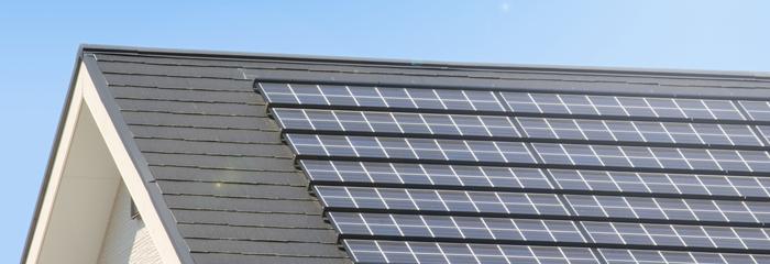 """屋根の専門家だからできる太陽光発電の""""3つの安心"""""""